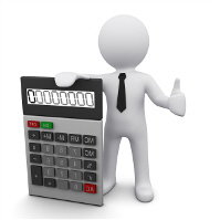 Business and personal revolving credit calculation.